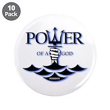 "Power of Poseidon 3.5"" Button (10 pack)"