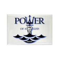 Power of Poseidon Rectangle Magnet