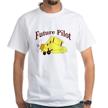 Future Pilot White T-shirt