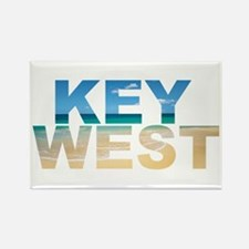 Cool Key west Rectangle Magnet (100 pack)