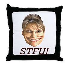 STFU! Throw Pillow