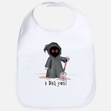 Valentine Grim Reaper Bib