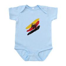 Germany deutschland Soccer Eagle Infant Bodysuit