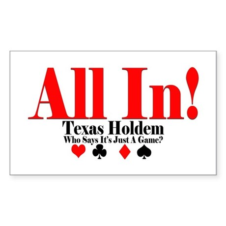 texas holdem all in regeln