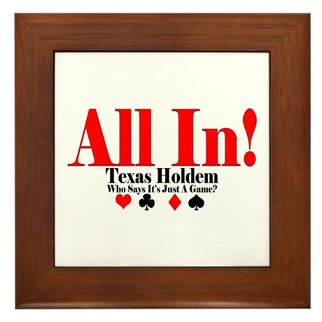 in texas holdem