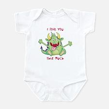 Valentine Monster Infant Bodysuit