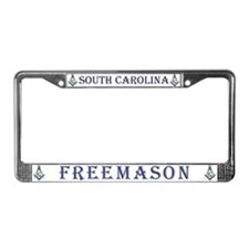 South Carolina Masons License Plate Frame