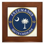 South Carolina Masons Framed Tile