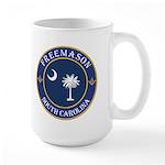 South Carolina Masons Large Mug