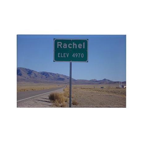 Rachel Sign Rectangle Magnet (100 pack)