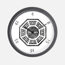 Dharma Numbers Wall Clock