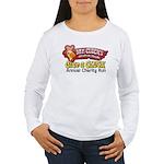 Mr. Cluck Charity Women's Long Sleeve T-Shirt