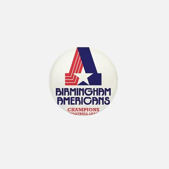 Birmingham Americans Mini Button