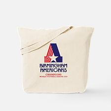 Birmingham Americans Tote Bag