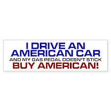 American Car Bumper Bumper Stickers