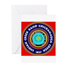 Cute Chickamauga Greeting Card