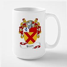 Bruce Family Crest Mugs
