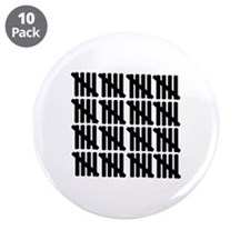 """80th birthday 3.5"""" Button (10 pack)"""