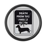 Ankle Death Large Wall Clock