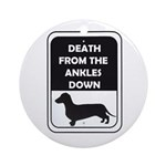 Ankle Death Ornament (Round)