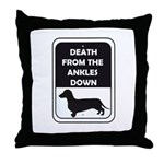 Ankle Death Throw Pillow