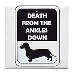 Ankle Death Tile Coaster