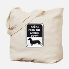 Ankle Death Tote Bag