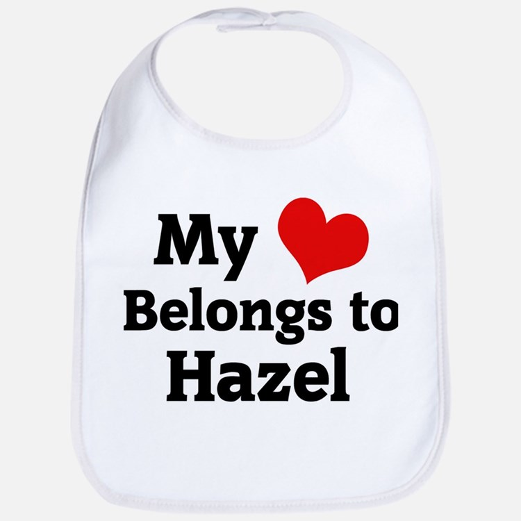 My Heart: Hazel Bib