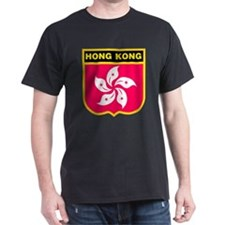 HONG KONG Black T-Shirt