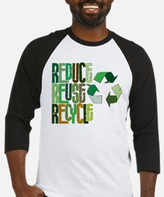 Reduce Reuse Recycle Baseball Jersey