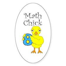 Math Chick Decal