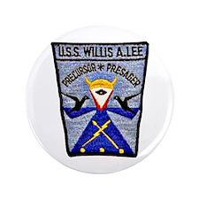 """USS WILLIS A. LEE 3.5"""" Button"""