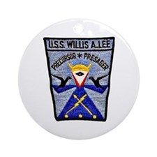 USS WILLIS A. LEE Ornament (Round)
