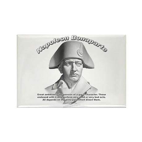 Napoleon Bonaparte 02 Rectangle Magnet