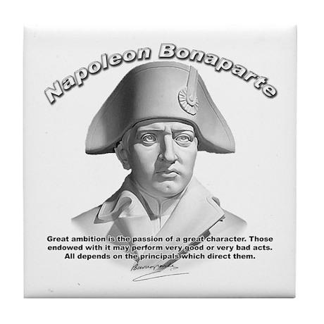 Napoleon Bonaparte 02 Tile Coaster