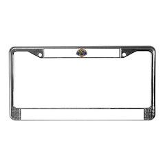Placentia California Police License Plate Frame