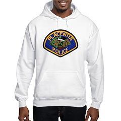 Placentia California Police Hooded Sweatshirt