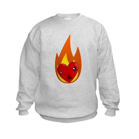 Burnin' Love Kids Sweatshirt