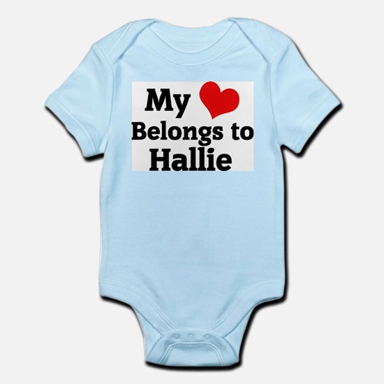 My Heart: Hallie Infant Creeper
