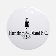 Hunting Island SC Ornament (Round)