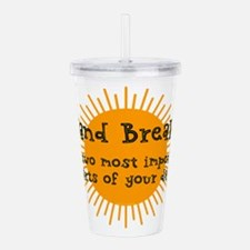 Bed and Breakfast Acrylic Double-wall Tumbler