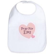 Pray For Elks Bib