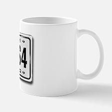AUDI S4 license plate Mug