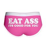 Ass eating Ladies Boy Shorts