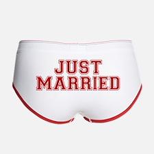 Just Married Women's Boy Brief