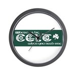 Big Celt Wall Clock
