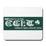 Big Celt Mousepad