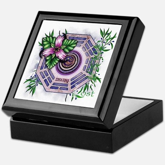 Lost TV Dharma Orchid Keepsake Box
