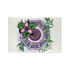 Lost TV Dharma Orchid Rectangle Magnet