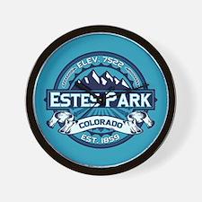 Estes Park Ice Wall Clock